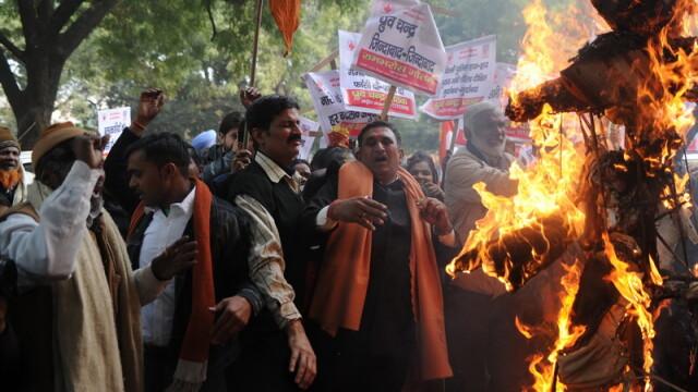 proteste in India, viol studenta