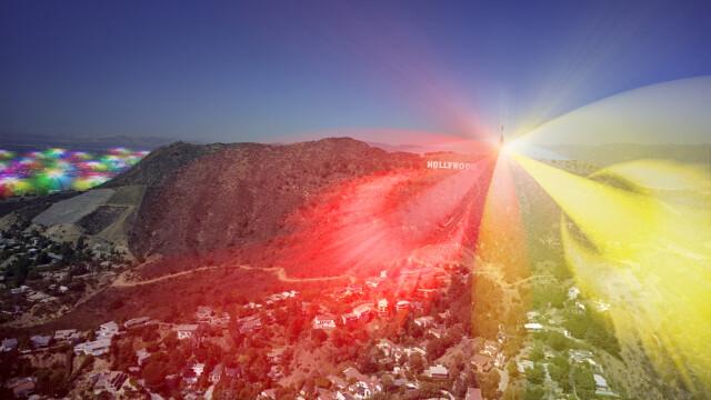 Cum ar arata lumea daca ai putea vedea semnalul telefoanelor mobile. GALERIE FOTO - Imaginea 3