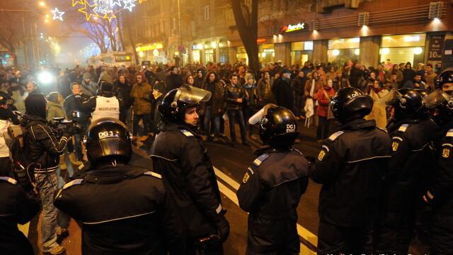Proteste uin Bucuresti fata de noul Cod penal