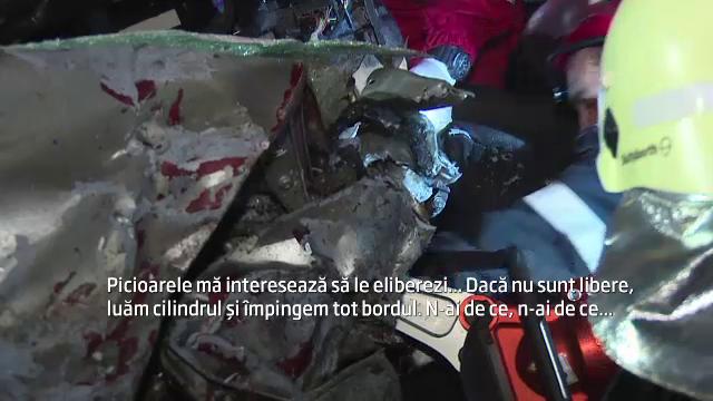 Accident grav pe A1: un jandarm si fiica lui de 16 ani au fost ucisi din cauza vitezei