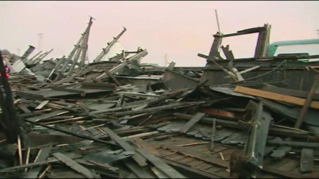 Furtuna puternica in Irlanda. O femeia a murit, iar trei persoane au fost ranite