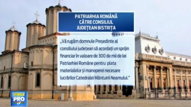 Catedrala Mantuirii Neamului sarac. In prag de Sarbatori, Patriarhia mai cere niste bani de la popor