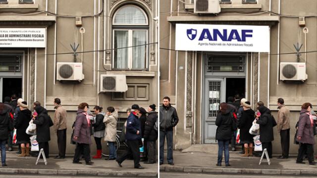 Schimbarea la fata a Fiscului. ANAF s-a rebranduit de 2 milioane USD - Imaginea 1