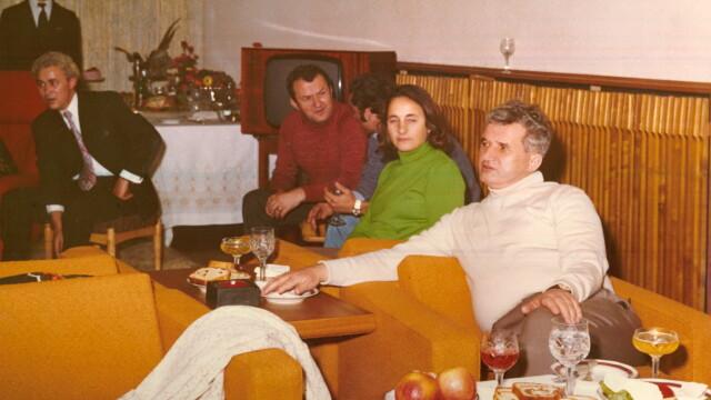 Cuplul Ceausescu, dat ca exemplu negativ de un cleric musulman. \