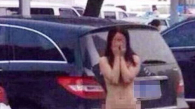 Un barbat si sora geamana a sotiei, lasati dezbracati in strada, dupa ce au fost surprinsi in ipostate intime. GALERIE FOTO - Imaginea 1