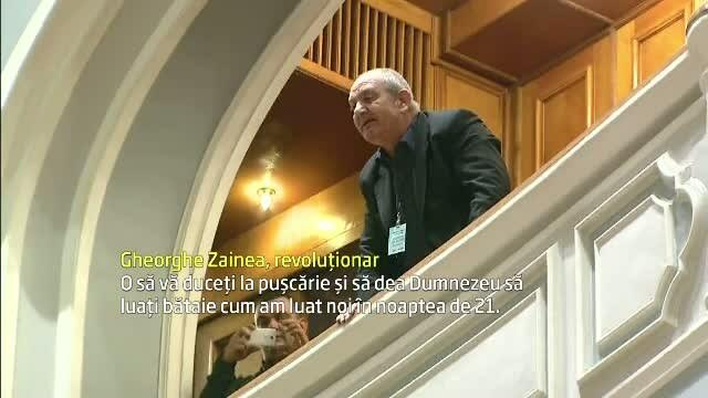 revolutionar in parlament
