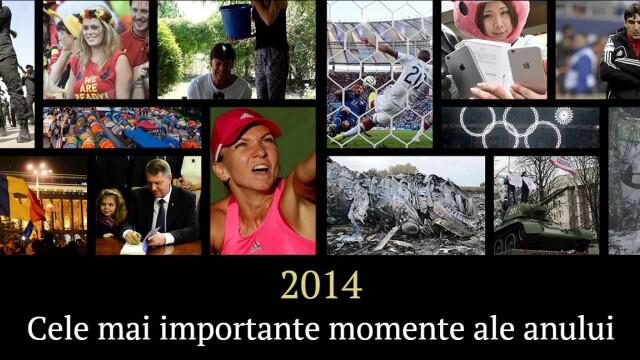 Cele mai importante momente din 2014. Criza din Ucraina, Mondialul din Brazilia, MH370 si ziua in care s-a schimbat Romania