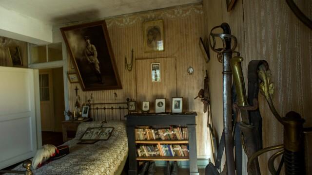 Incursiune in istorie. Cum arata camera unui soldat din Primul Razboi Mondial, nemodificata de 100 de ani - Imaginea 2