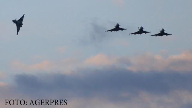 avioane britanice, raid in Siria