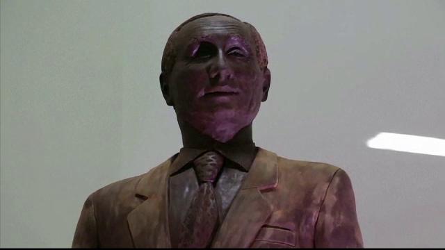 statuie din ciocolata