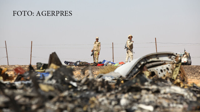 Egiptenii ii contrazic pe rusi in cazul tragediei aviatice din Sinai: \