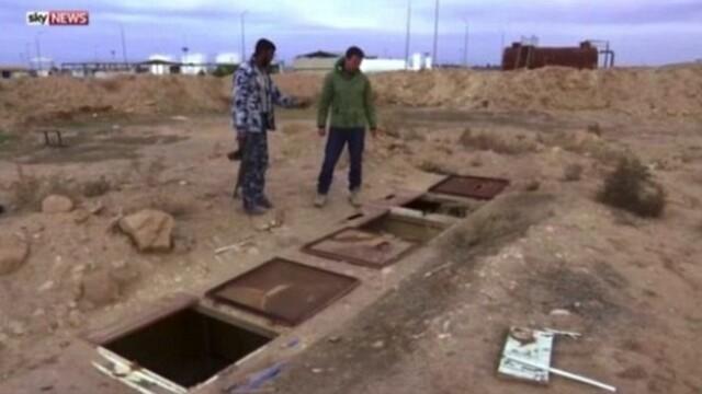 Iadul in care erau fortate sa traiasca femeile iazidi. Sky News a filmat inchisorile subterane ale ISIS