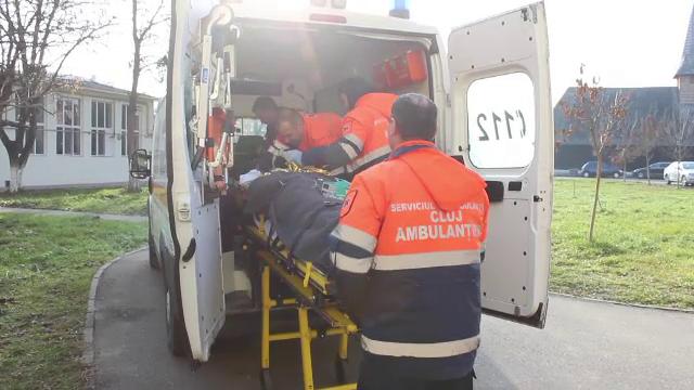Explozie la un service auto din Salaj: un barbat de 36 de ani a suferit arsuri pe 40% din corp. De la ce a pornit deflagratia