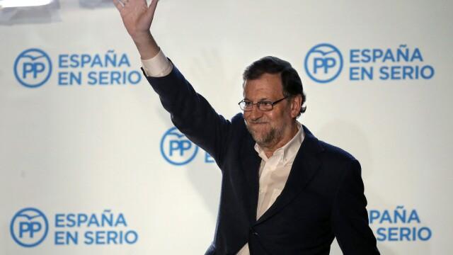 Partidul Popular al lui Mariano Rajoy a castigat alegerile din Spania, dar a pierdut majoritatea in Parlament