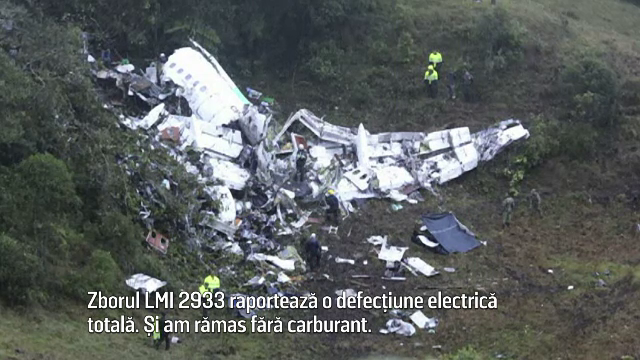 Dialogul dintre pilotul avionului prabusit in Columbia si turnul de control. \