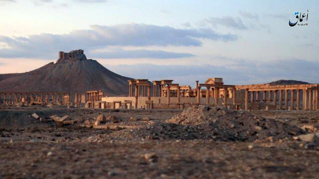 Statul Islamic a lansat un nou atac asupra orasului antic Palmira. Jihadistii au recucerit zona, dupa un raid al rusilor