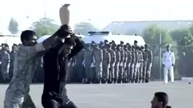 O demonstratie a fortelor speciale iraniene s-a transformat in comedie. Cum au reactionat comandantii