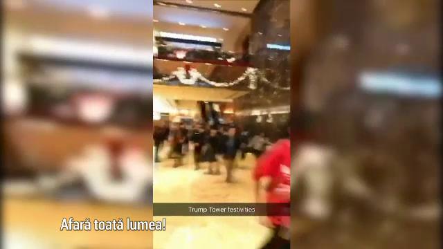 evacuare Trump Tower