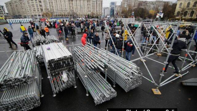Târgul din Piața Victoriei, anulat după proteste