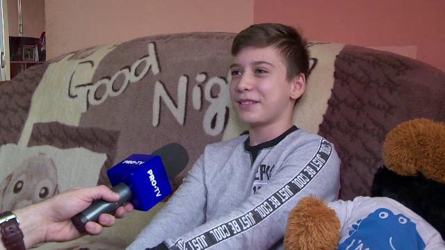 Nicolas, un puști de 12 ani din Galați, s-a întors printre cei vii după ce medicii nu i-au mai dat șanse