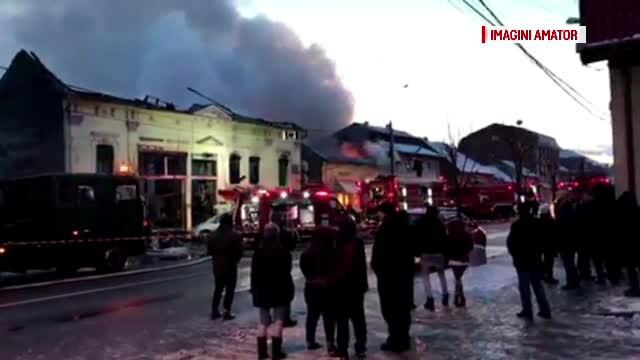 Dosar penal deschis și pagube de milioane de euro după incendiul din Timișoara