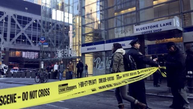 Momentul exploziei din New York. Patru persoane au fost rănite. Suspectul, în custodia poliției