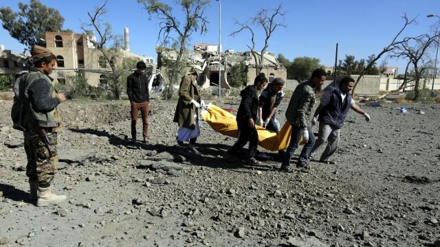 Raid aerian al Arabiei Saudite asupra Yemenului: cel puțin 39 de morți