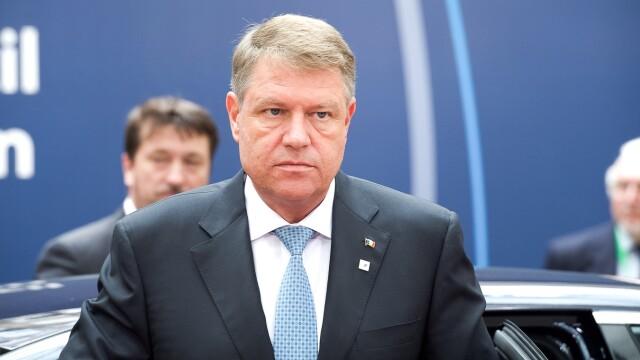 Klaus Iohannis la consiliul UE din octombrie