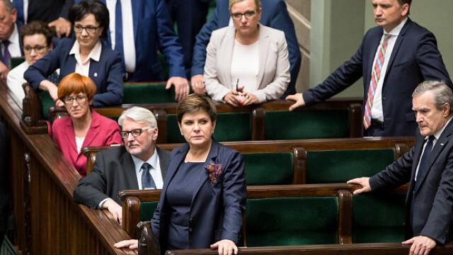 Deputații din Polonia și-au scăzut singuri salariile, din cauza unui scandal