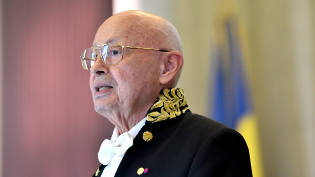Acad. Ionel Valentin Vlad va fi înmormântat la Belu. Mesajul Academiei Române