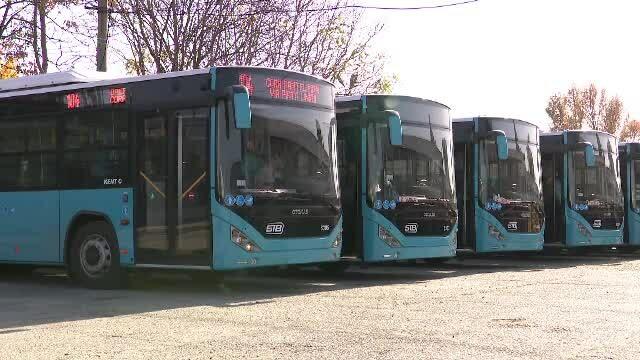 Precizările Societății de Transport București cu privire la problemele apărute la autobuzele noi