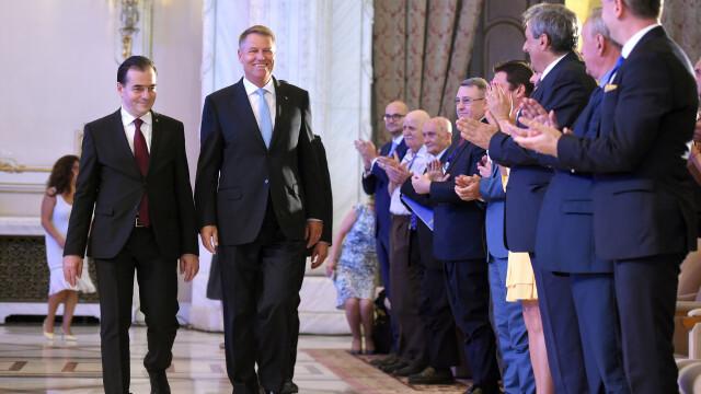 Klaus Iohannis, Ludovic Orban, PNL