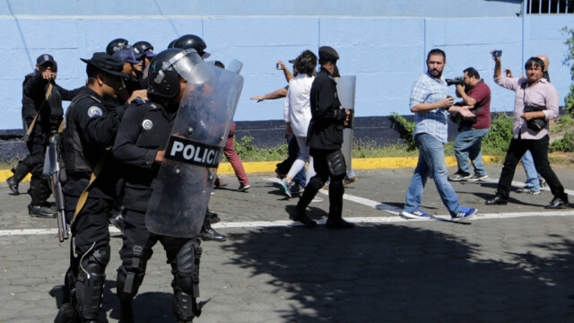 Motivul pentru care mai mulți jurnaliști au fost bătuți de polițiști în timpul unor proteste