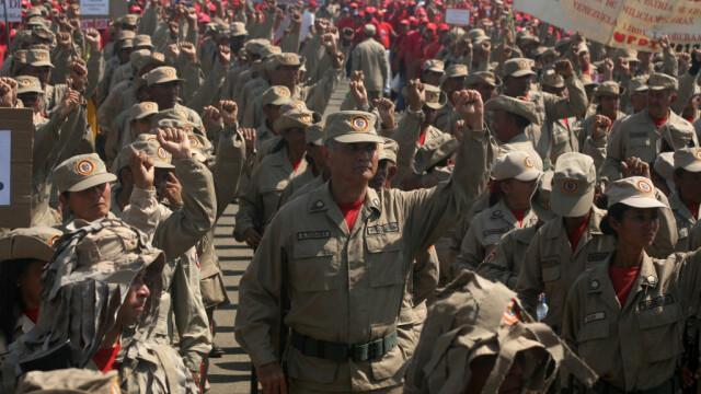 militari din Venezuela