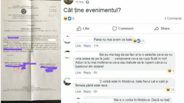 eveniment facebook cercetat penal