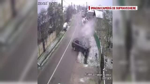 accident filmat dambovita