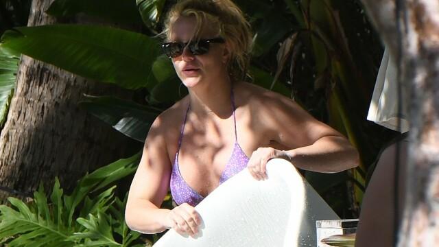 Cum și-a sărbătorit Britney Spears ziua de naștere. Imagini inedite cu celebra cântăreață - Imaginea 3
