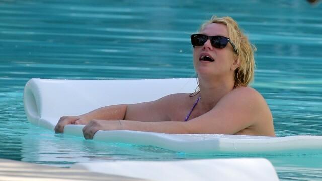 Cum și-a sărbătorit Britney Spears ziua de naștere. Imagini inedite cu celebra cântăreață - Imaginea 4