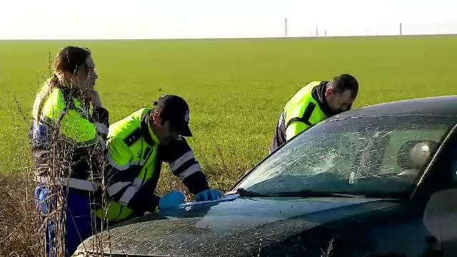 ANIMAȚIE GRAFICĂ. Cum a fost împușcat în cap pasagerul mașinii urmărite în Constanța - Imaginea 3