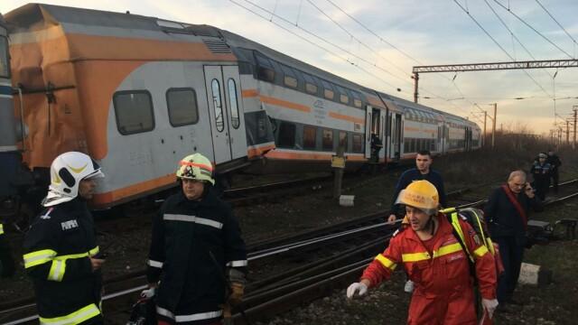 Aproape 50 de oameni au fost răniți după ce 2 trenuri s-au ciocnit în Ploiești - Imaginea 2