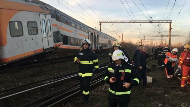 Aproape 50 de oameni au fost răniți după ce 2 trenuri s-au ciocnit în Ploiești - Imaginea 3