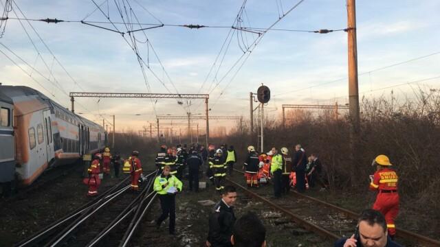 Aproape 50 de oameni au fost răniți după ce 2 trenuri s-au ciocnit în Ploiești - Imaginea 5