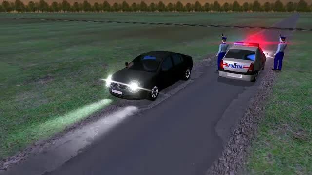 ANIMAȚIE GRAFICĂ. Cum a fost împușcat în cap pasagerul mașinii urmărite în Constanța - Imaginea 5