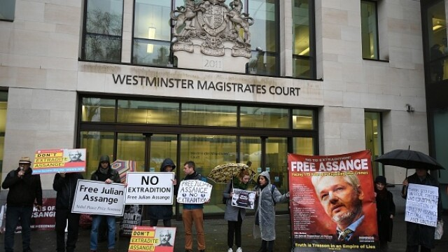 Julian Assange, audiat ca presupusă victimă a unor acte de spionaj - Imaginea 1