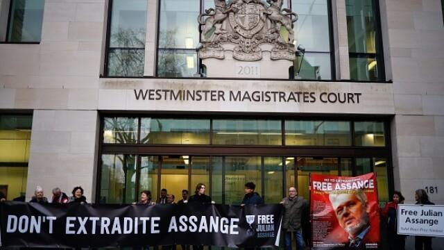 Julian Assange, audiat ca presupusă victimă a unor acte de spionaj - Imaginea 3