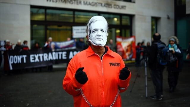 Julian Assange, audiat ca presupusă victimă a unor acte de spionaj - Imaginea 4