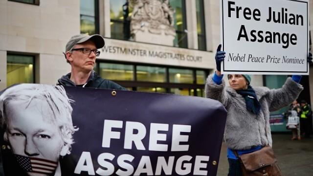 Julian Assange, audiat ca presupusă victimă a unor acte de spionaj - Imaginea 6