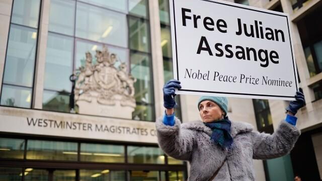 Julian Assange, audiat ca presupusă victimă a unor acte de spionaj - Imaginea 7