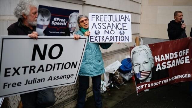 Julian Assange, audiat ca presupusă victimă a unor acte de spionaj - Imaginea 8