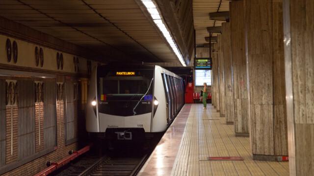 Alertă la metrou în Capitală. Un călător a fost amenințat cu briceagul